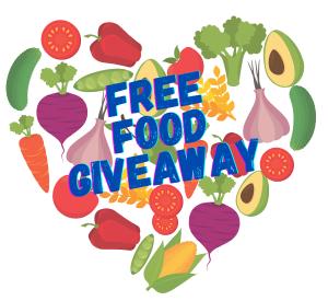 free food giveaway, food box distribution in lamar