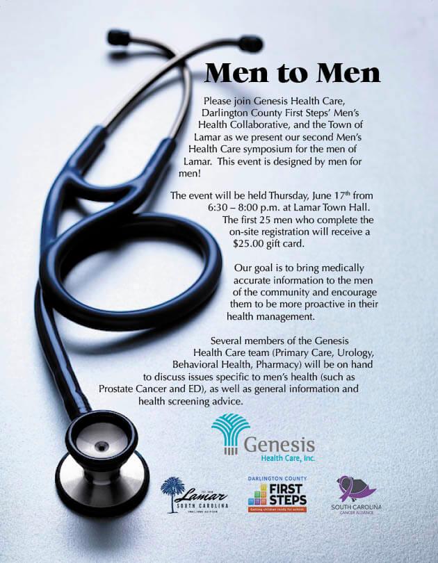 Men to Men Health Care Symposium