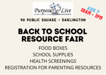 Back To School Resource Fair