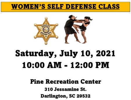 womens self defense class