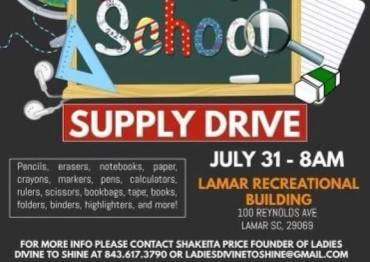 Back To School Supply Drive
