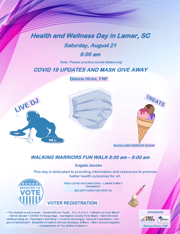 Health and Wellness Day Flyer