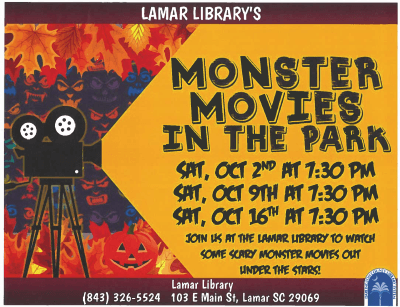 Movies at Library Fall Events 2021