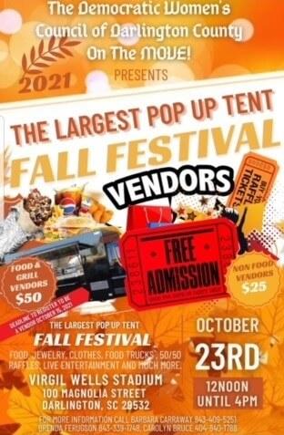 pop up tent fall festival